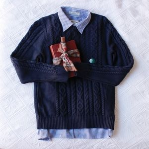 NWT L.L. Bean Cable Knit Sweater